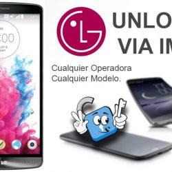 Liberar Telefonos LG por IMEI (Cambio de Compañia)