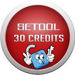 Logs Setool · Creditos y Activacion