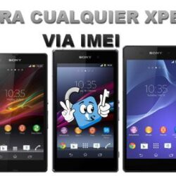 Liberar / Desbloquear Telefonos Sony Xperia via IMEI