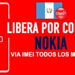 Liberar Nokia Claro Guatemala via Codigo IMEI [Todos los Modelos]