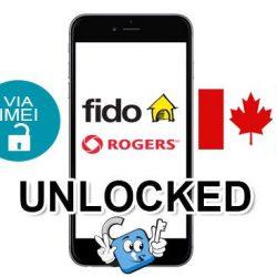 Liberar / Unlock de iPhone Canada Rogers & Fido por IMEI (Todos los Modelos)