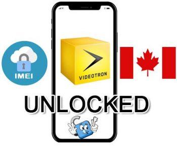 Liberar / Unlock de iPhone Canada Videotron por IMEI (Todos los Modelos)