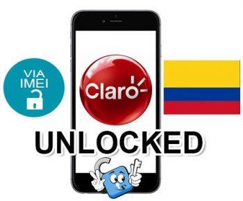 Liberar / Unlock de iPhone Colombia Claro por IMEI (Todos los Modelos)