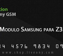 Activacion Samsung para Z3X