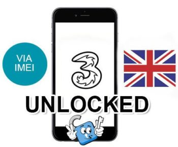 Liberar / Unlock de iPhone UK Three Hutchison por IMEI (Todos los Modelos)