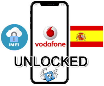 Liberar / Unlock de iPhone España Vodafone por IMEI (Todos los Modelos)