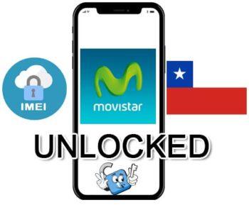 Liberar / Unlock de iPhone Chile Movistar por IMEI (Todos los Modelos)