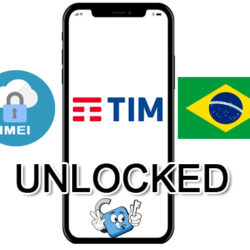 Liberar / Unlock de iPhone Brasil TIM por IMEI (Todos los Modelos)