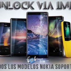 Liberar / Desbloquear Nokia Android Worldwide via IMEI (Todas las Operadoras)