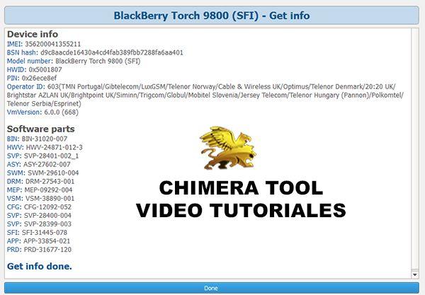 Tutoriales Chimera Tool Reparacion de IMEI, Liberacion y