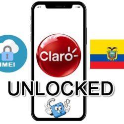 Liberar / Unlock de iPhone Ecuador Claro por IMEI (Todos los Modelos)