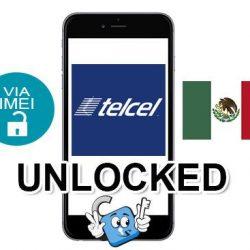 Liberar / Unlock de iPhone Mexico Telcel por IMEI (Todos los Modelos)