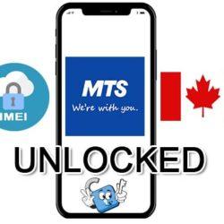 Liberar / Unlock de iPhone Canada MTS por IMEI (Todos los Modelos)