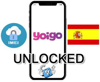 Liberar / Unlock de iPhone España Yoigo por IMEI (Todos los Modelos)