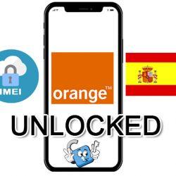 Liberar / Unlock de iPhone España Orange por IMEI (Todos los Modelos)