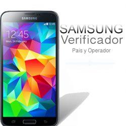 Verificador de Pais y Operador para Samsung Galaxy