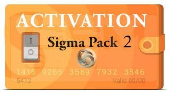 Activacion Sigma Pack 2 para Sigma Box / Key