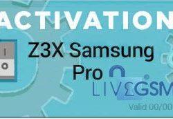 Activacion Z3X Samsung Pro (Samsung Tool Pro Z3X)