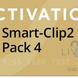 Activacion Pack 4 para Smart Clip 2