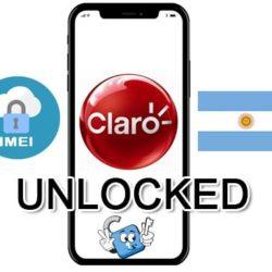Liberar / Unlock de iPhone Argentina Claro por IMEI (Todos los Modelos)