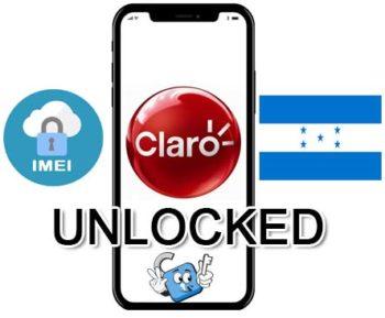 Liberar / Unlock de iPhone Honduras Claro por IMEI (Todos los Modelos)