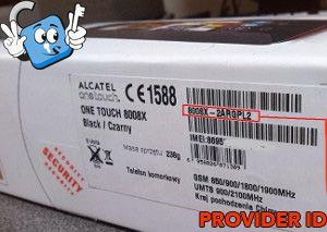 Tutoriales  ALCATEL_PROVIDER_ID_EJEMPLO_2