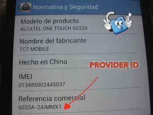 Tutoriales  ALCATEL_PROVIDER_ID_EJEMPLO_4