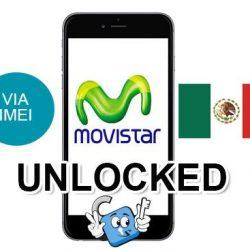 Liberar / Unlock de iPhone Mexico Movistar por IMEI (Todos los Modelos)