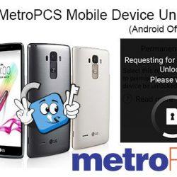 Libera Telefonos Metro PCS USA via APP (Aplicacion Device Unlock)