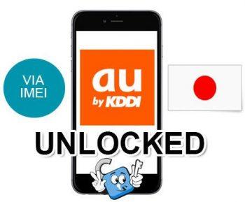 Liberar iPhone Japon AU KDDI por IMEI Premium (Todos los Modelos)