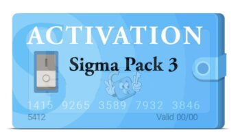 Activacion Sigma Box / Key Pack 3