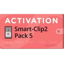 Activacion Pack 5 para Smart Clip 2