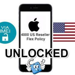 Liberar / Unlock de iPhone US Reseller Flex Policy por IMEI (Todos los Modelos)
