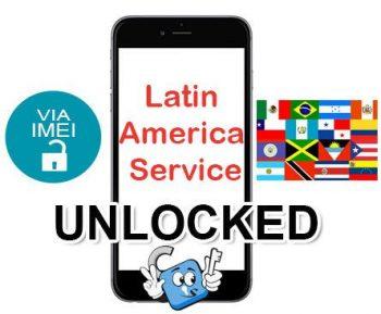 Liberar / Unlock de iPhone Latin America Service por IMEI (Todos los Modelos)