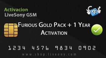 Activacion Furious Gold PACK + 1 Año de Soporte