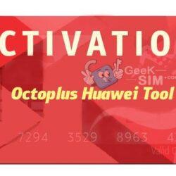 Activación Octoplus Huawei Tool