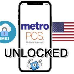 Liberar / Unlock de iPhone USA Metro PCS por IMEI Premium (Todos los Modelos)