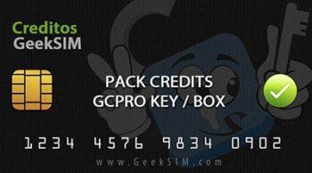 Creditos GCPro Box / Dongle