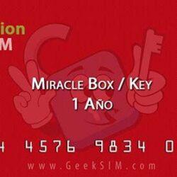 Activacion Miracle Box / Key 1 Año