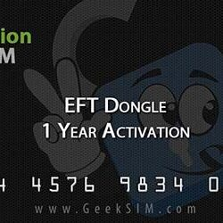 Activacion EFT Dongle por 1 Año