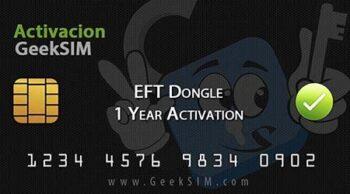 Licencia Activacion EFT Dongle (1 o 2 años)