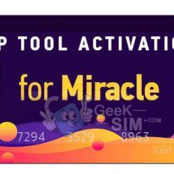 Activacion Miracle FRP Tool