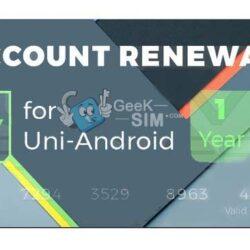 Renovacion Uni-Android Tool 1 Año