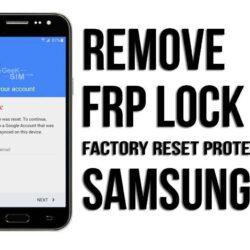 Eliminar Cuenta Google Samsung FRP Lock Remove (Remoto)