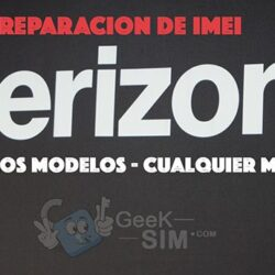 Reparacion de IMEI USA Verizon (Multimarca)