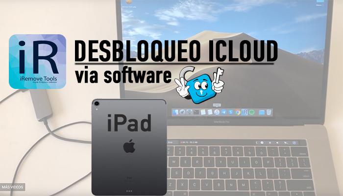 Desbloqueo-iCloud-Iremove-tool-software-ipad
