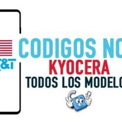 Codigos NCK para Liberar Kyocera AT&T USA [Todos los Modelos]
