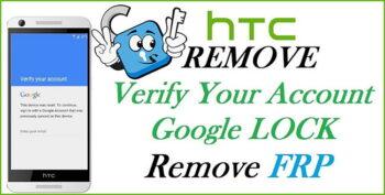 Eliminar Cuenta Google HTC FRP Lock Remove (Remoto)