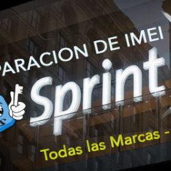 Unbarring / Limpieza IMEI USA Sprint [Multimarca]