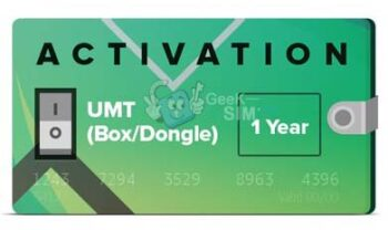 Activacion UMT Box / Dongle 1 Año (Licencia 365 dias)